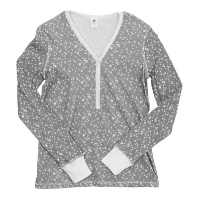 Women's Henley Pajama Top