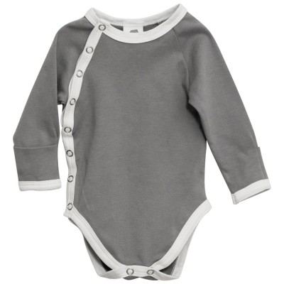 Side Snap Long Sleeve Bodysuit