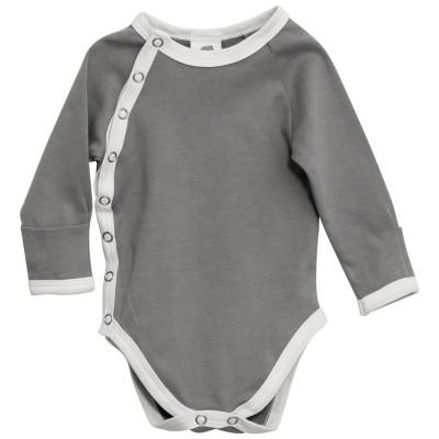 Side Snap Long Sleeve Bodysuit