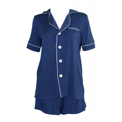 Womens Short Sleeve Pajama Set