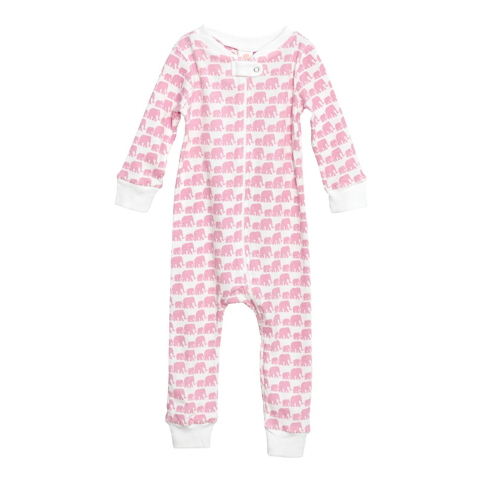 Full Zip Footless Pajama