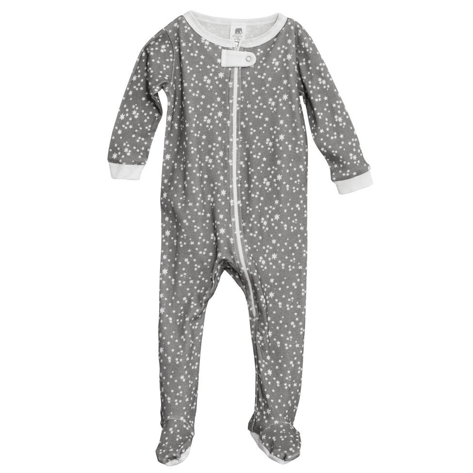 Full Zip Footed Pajama