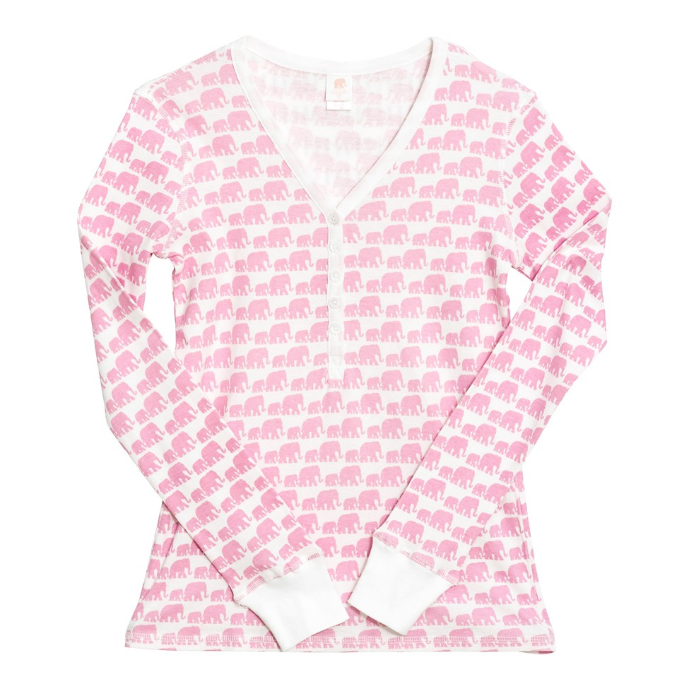 Women's Henley Pajama Top