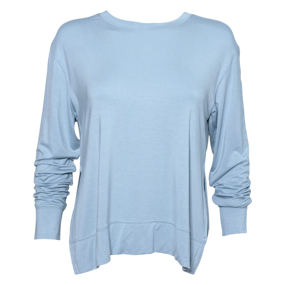 Long Sleeve Side Slit Tee