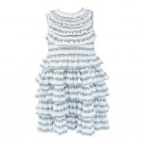 Sleeveless Tiered Knit Dress