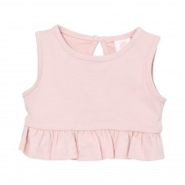 Peplum Crop Top