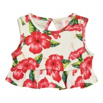 Peplum Crop Top - Final Sale