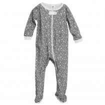 Full Zip Footed Pajama