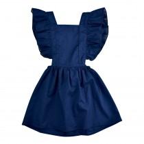 Flutter Bib Dress - Final Sale
