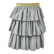 Triple Ruffle Twirl Skirt