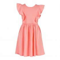 Flutter Seam Twirl Dress