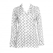 Ladies Button Down Pajama Top - FINAL SALE