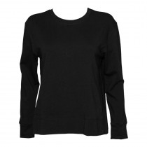 Side Slit Women's Top - French Terry
