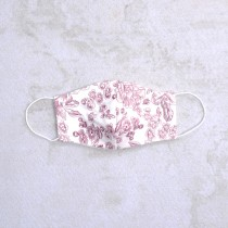 Organic Cotton Ear Loop Mask with Pocket