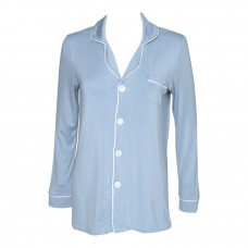 Ladies Button Down Pajama Top