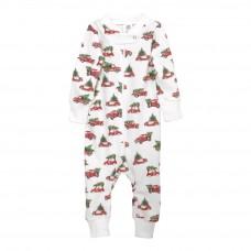 Full Zip Footless Pajama