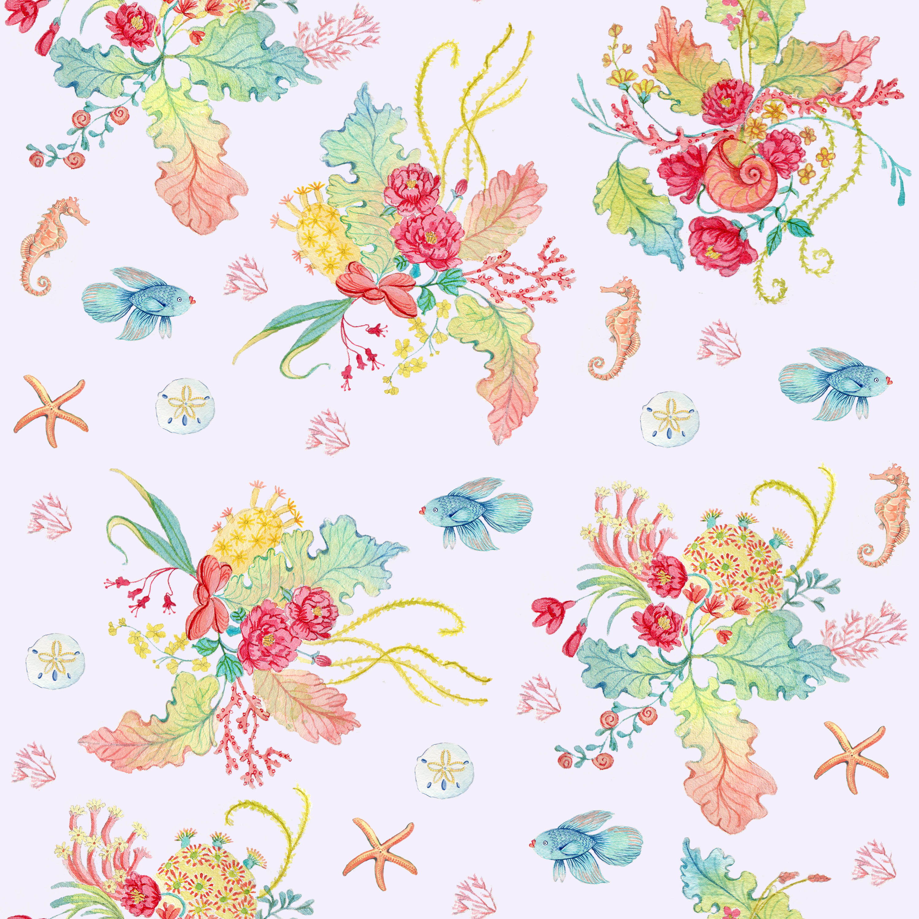 Blog - Sea Florals: The Making Of