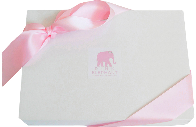 Pink Elephant Gift Packaging